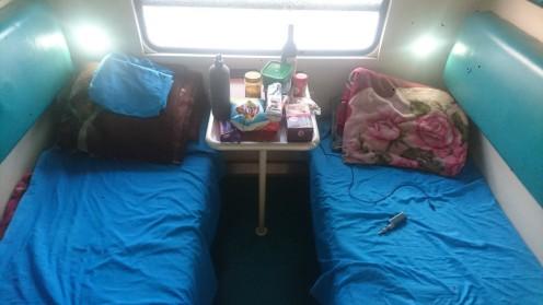Tazara first class cabin