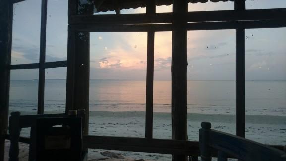 Indian Ocean from Dar es Salaam beach front